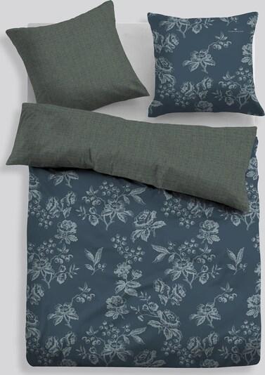 TOM TAILOR Bed Gemusterte Bettwäsche in grün, Produktansicht