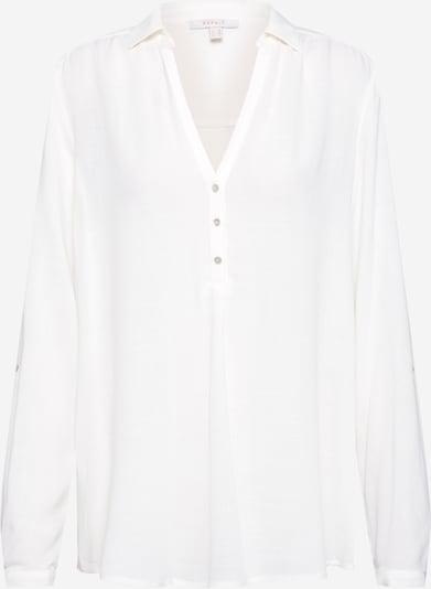 ESPRIT Bluse 'New Slub CV' in weiß, Produktansicht