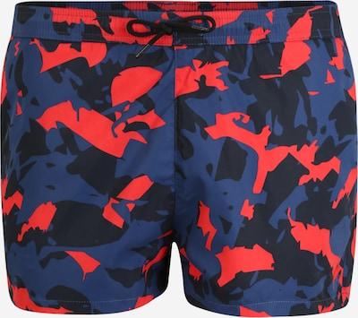 HUGO Zwemshorts 'TAMARAMA' in de kleur Duifblauw / Grenadine / Zwart, Productweergave