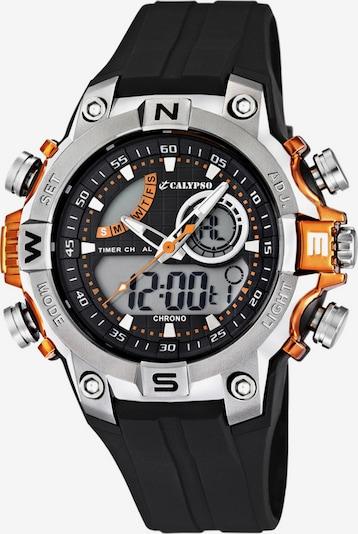 CALYPSO WATCHES Chronograph in orange / schwarz / silber, Produktansicht