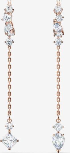 Swarovski Náušnice 'Attract' - ružové zlato / biela, Produkt