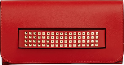 faina Clutch in rot, Produktansicht