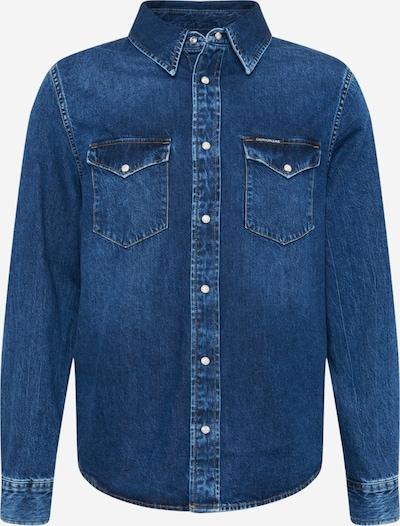 Calvin Klein Jeans Hemd in blue denim, Produktansicht