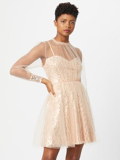 Forever Unique Koktejlové šaty - růžově zlatá / starorůžová, Model/ka