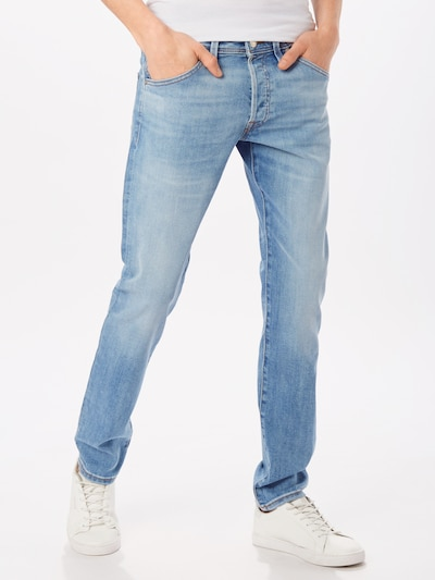 JACK & JONES Jeans 'JJIGLENN JJFOX'' in blue denim, Modelansicht