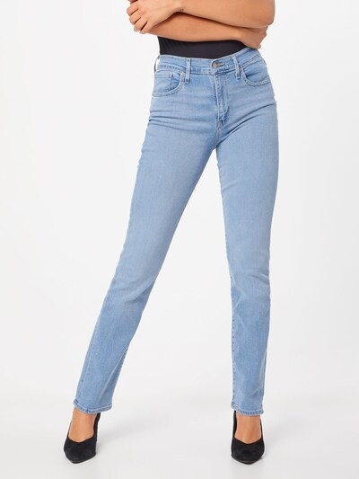 LEVI'S Džinsi '724™ HIGH RISE STRAIGHT' pieejami zils džinss, Modeļa skats