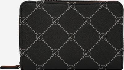TAMARIS Portemonnaie 'Anastasia' in schwarz / weiß, Produktansicht
