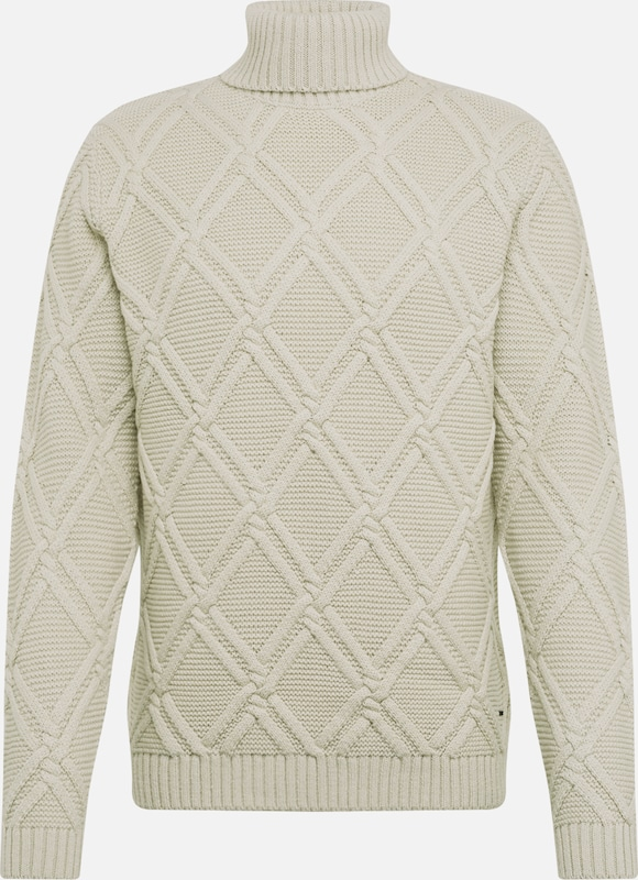 Only & Sons Pullover 'LARRY 4276' in hellgrau, Produktansicht