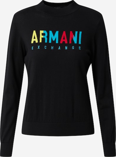ARMANI EXCHANGE Shirt in schwarz, Produktansicht