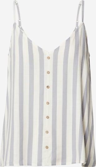 ONLY Top 'Astrid' | svetlo siva / off-bela barva, Prikaz izdelka