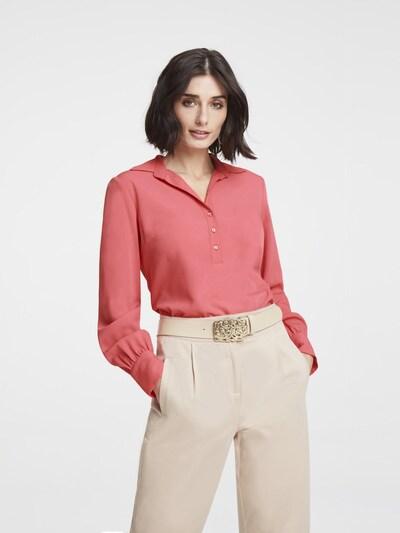 heine Bluse in hummer, Modelansicht