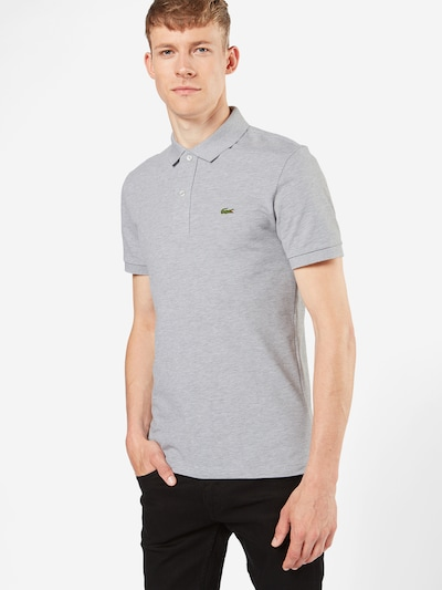 LACOSTE Poloshirt in grau: Frontalansicht