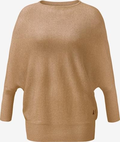 CURARE Yogawear Pullover in hellbraun, Produktansicht