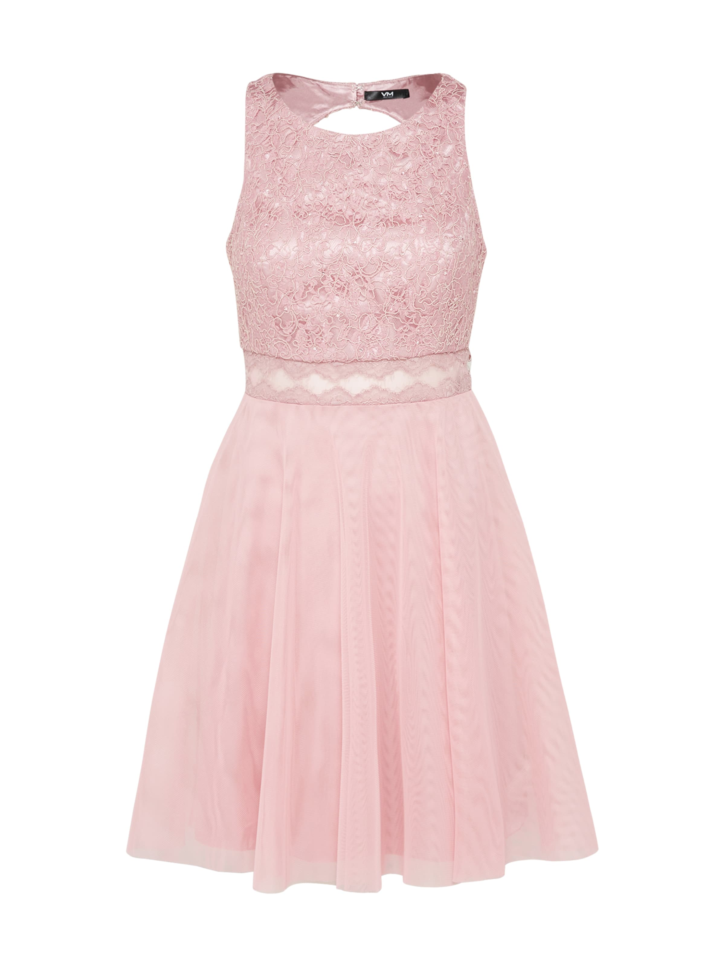 Vm In Rosa Vera Midilänge Kleid Mont R3qA54Lcj