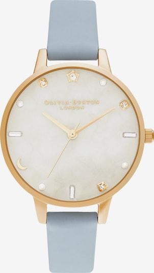 Olivia Burton Uhr in rauchblau / gold, Produktansicht
