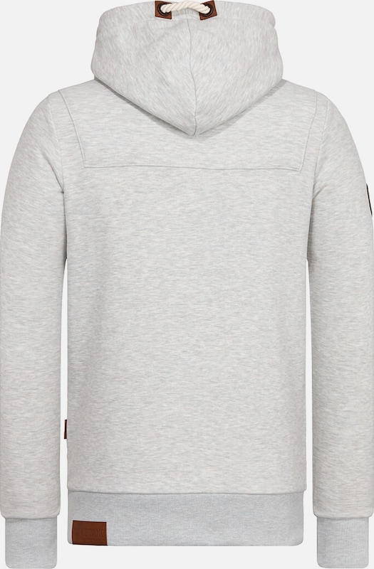 Sweat Naketano 'lennox' En Clair shirt Gris xodCeB