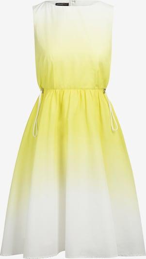 APART Kleid in gelb / weiß, Produktansicht