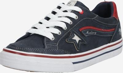 Sneaker low MUSTANG pe navy: Privire frontală