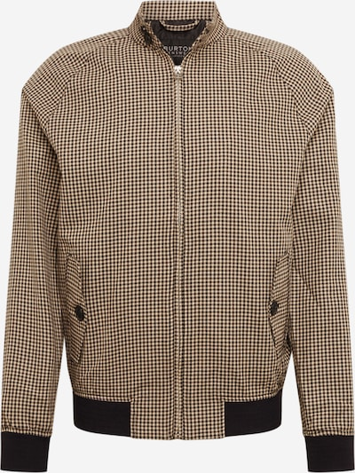 BURTON MENSWEAR LONDON Veste mi-saison 'MINICHK HARRINGTON' en marron, Vue avec produit
