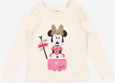GAP Shirt in elfenbein / gold / pink / rosa / schwarz, Produktansicht