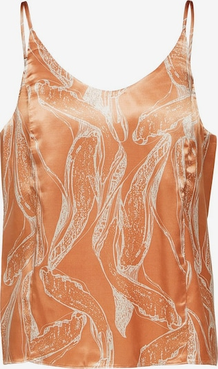 SELECTED FEMME Top in beige / pastellorange, Produktansicht