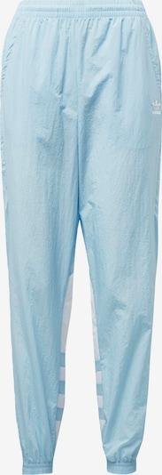 ADIDAS ORIGINALS Pantalon en bleu clair / blanc, Vue avec produit