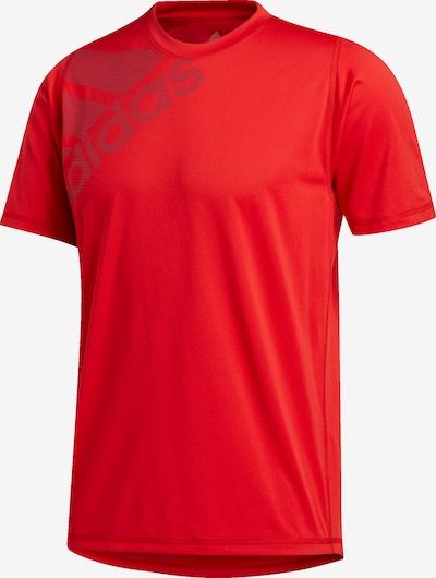 ADIDAS PERFORMANCE Trainingsshirt in hellrot: Frontalansicht