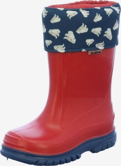 ROMIKA Regenlaarzen in de kleur Blauw / Rood, Productweergave