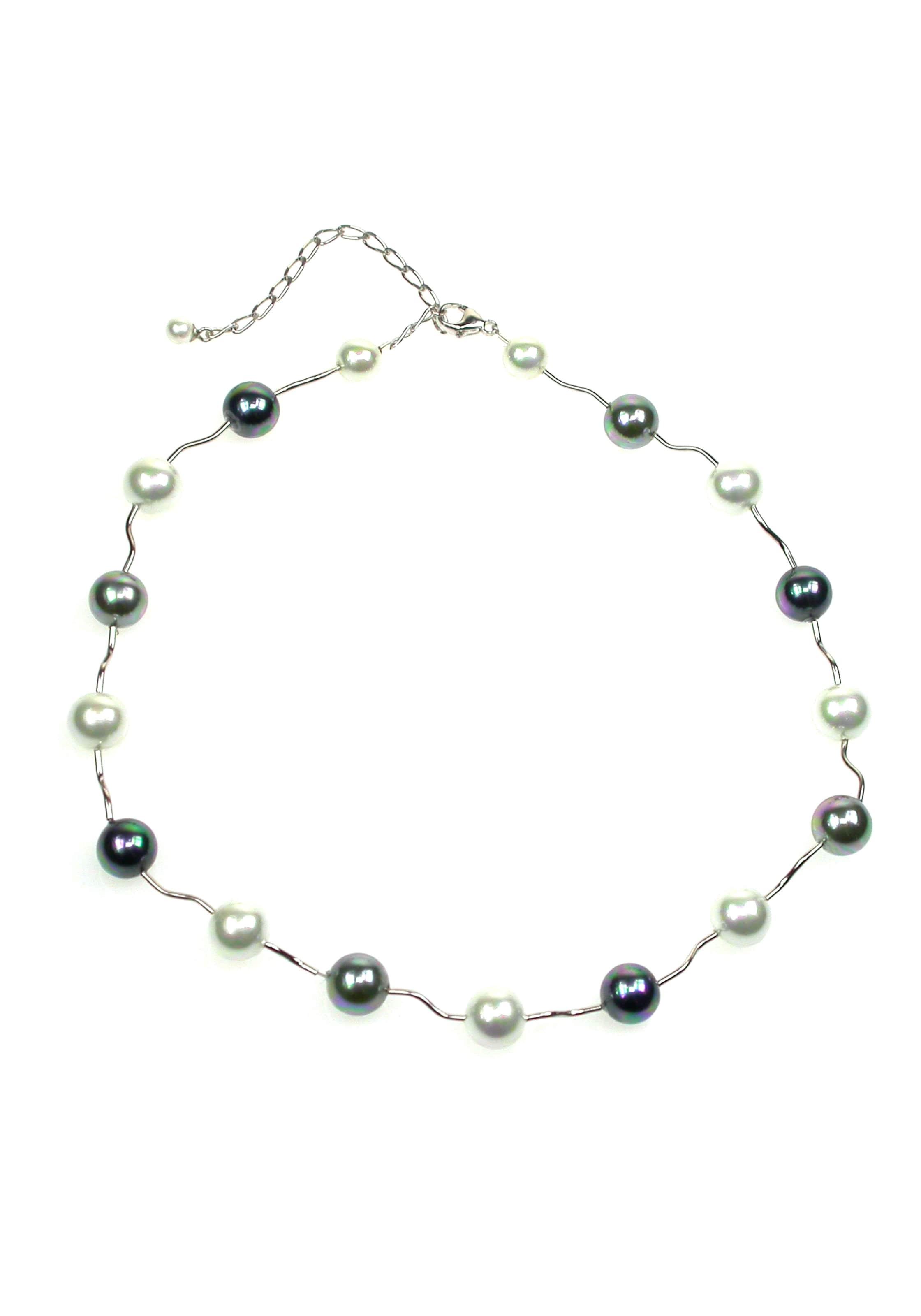 Orquidea Perlenkette 'Rebecca' in weiß