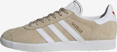 ADIDAS ORIGINALS Sneakers laag in de kleur Lichtbeige / Wit: Vooraanzicht