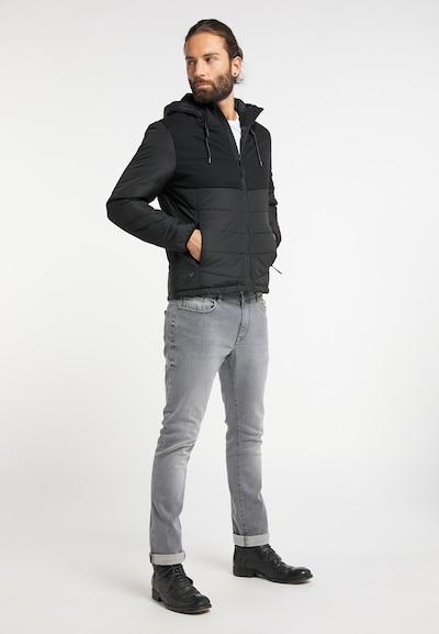 RAIDO Veste d'hiver en gris foncé / noir, Vue avec produit