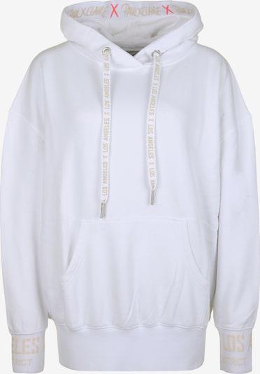 PAUL X CLAIRE Sweatshirt 'LOS ANGELES' in de kleur Wit, Productweergave
