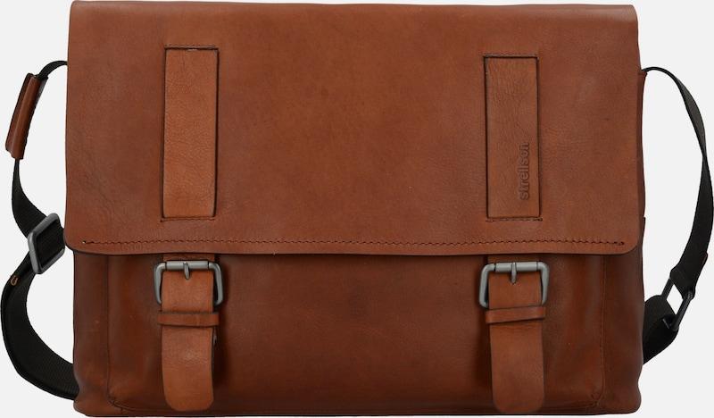 STRELLSON Turnham Messenger Leder 40cm Laptopfach