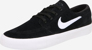 Nike SB Σνίκερ χαμηλό 'JANOSKI' σε μαύρο