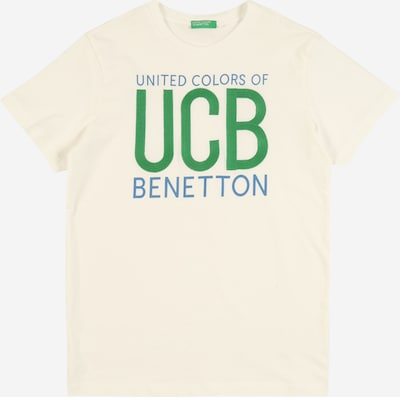 UNITED COLORS OF BENETTON Shirt in weiß, Produktansicht