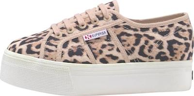 SUPERGA Sneaker  'Fantasy Cotw' in beige / braun: Frontalansicht