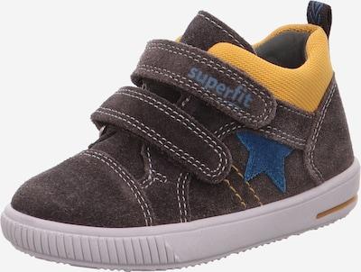 SUPERFIT Schuhe 'MOPPY' in blau / braun / gelb, Produktansicht