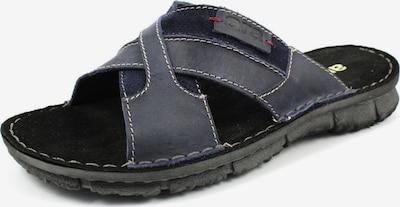 ARA Pantoletten in dunkelblau, Produktansicht