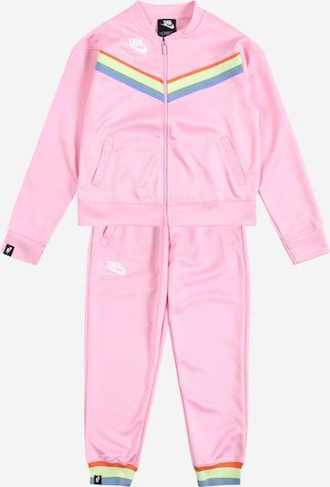 Nike Sportswear Trainingsanzug in mischfarben / pink, Produktansicht