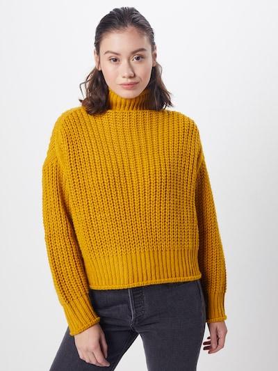 Farina Opoku Pullover 'LEEYA' in gelb, Modelansicht