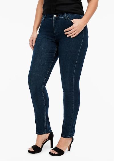 TRIANGLE Jeans in blue denim, Modelansicht