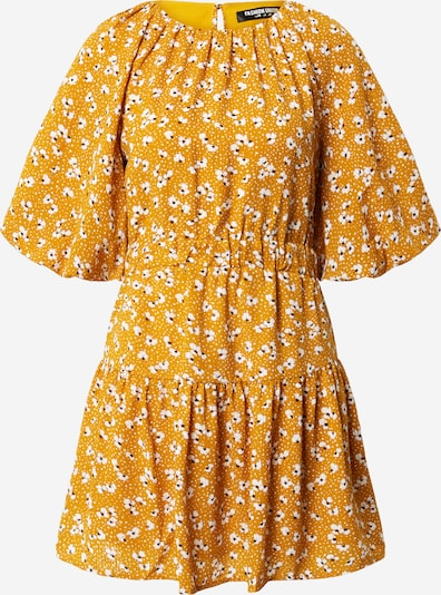 Fashion Union Summer dress 'Corrine' in gold yellow / white, Item view