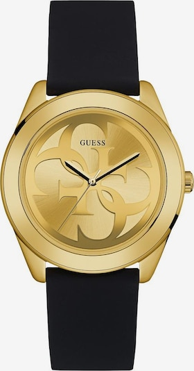 GUESS Analog Watch 'G TWIST' in yellow gold / Black, Item view