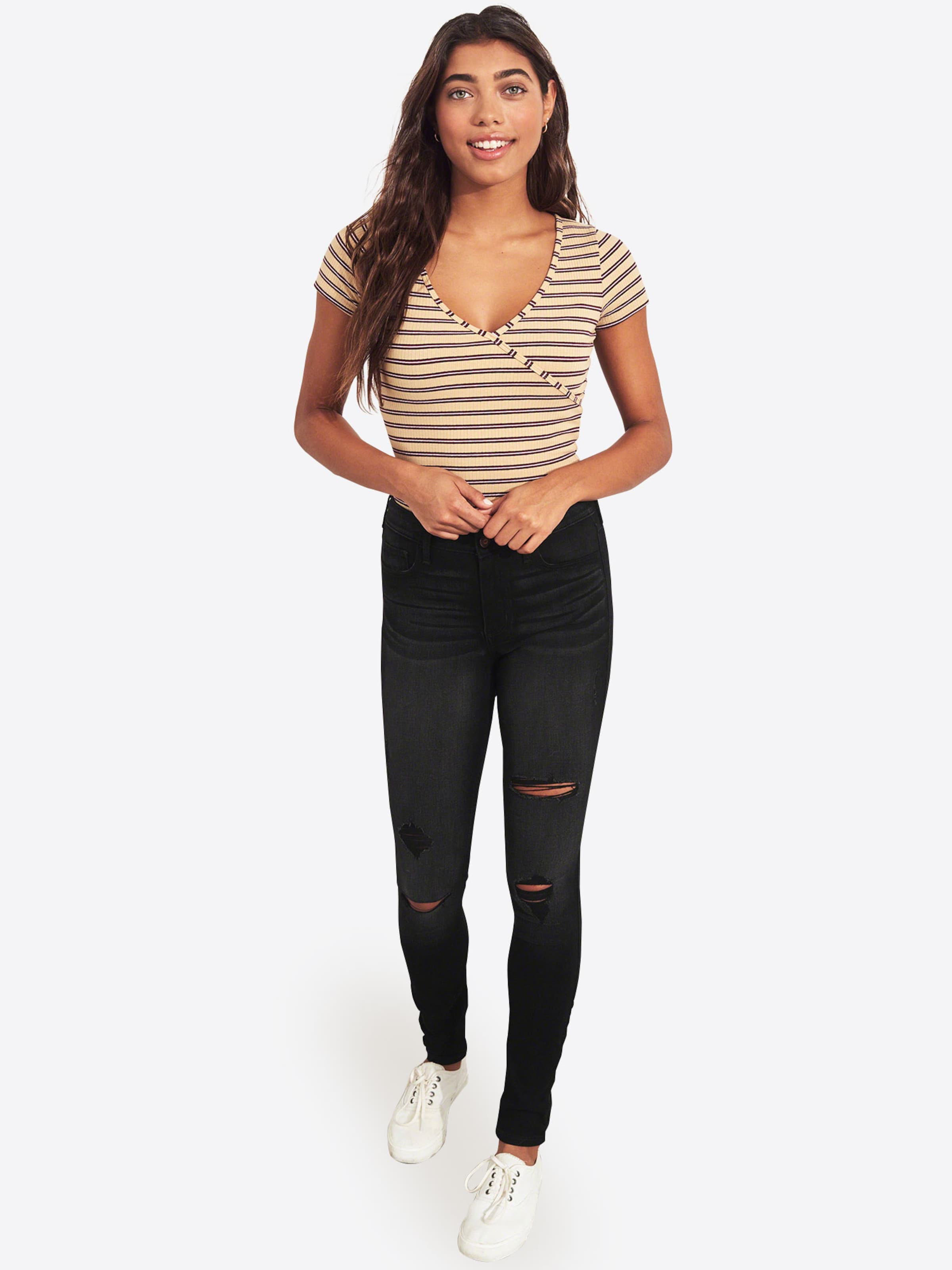 Dest ' Hollister 'bts17 Black In wash Jeans Denim lFKT1Jc