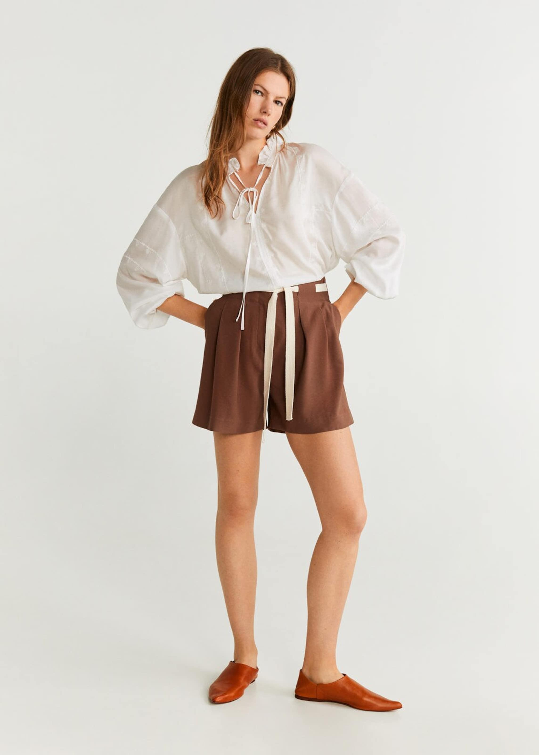In In In Shorts Braun Shorts Mango 'peppa' Braun Shorts Mango 'peppa' 'peppa' Mango MSUzGqVpL