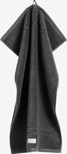GANT Handdoek 'Organic Premium' in de kleur Donkergrijs, Productweergave