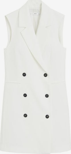 MANGO Robe 'Boreal' en blanc, Vue avec produit
