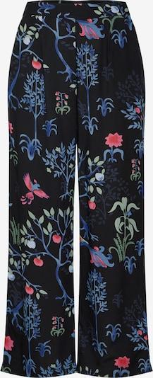 VERO MODA Pantalon à pince 'BIRDIE CARLIE' en mélange de couleurs / noir: Vue de face