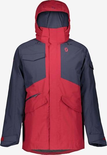 SCOTT Skijacke 'Ultimato Dryo' in kobaltblau / rot, Produktansicht