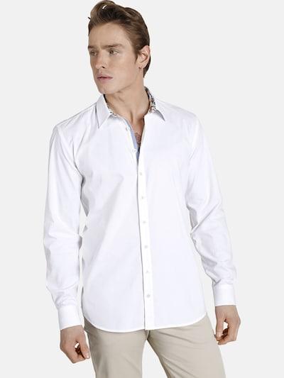 Shirtmaster Chemise ' Sleepingtiger ' en blanc: Vue de face